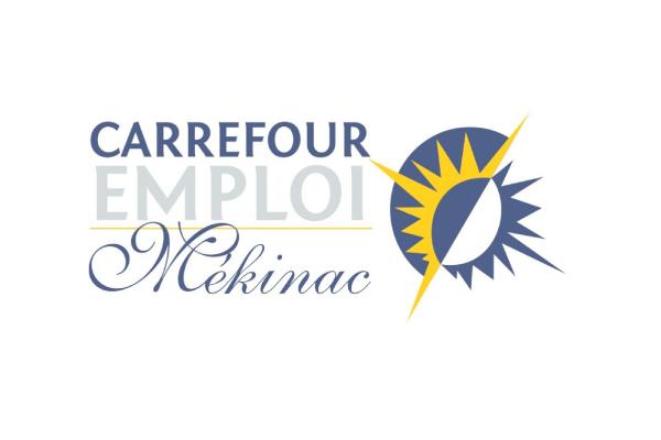 Logo Carrefour Emploi Mékinac