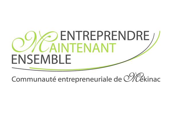 Logo Communauté entrepreneuriale de Mékinac