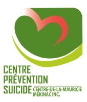 Logo Centre prévention suicide - Centre-de-la-Mauricie / Mékinac
