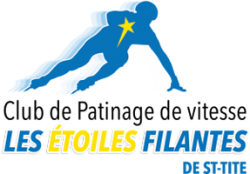 Logo Club de patinage de vitesse - Les Étoiles Filantes de St-Tite