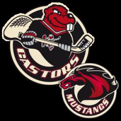 Logos Hockey Mineur - Les Castors et Les Mustangs