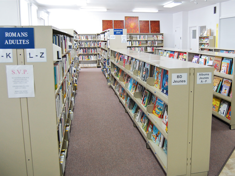 Bibliothèque municipale Sainte-Thècle