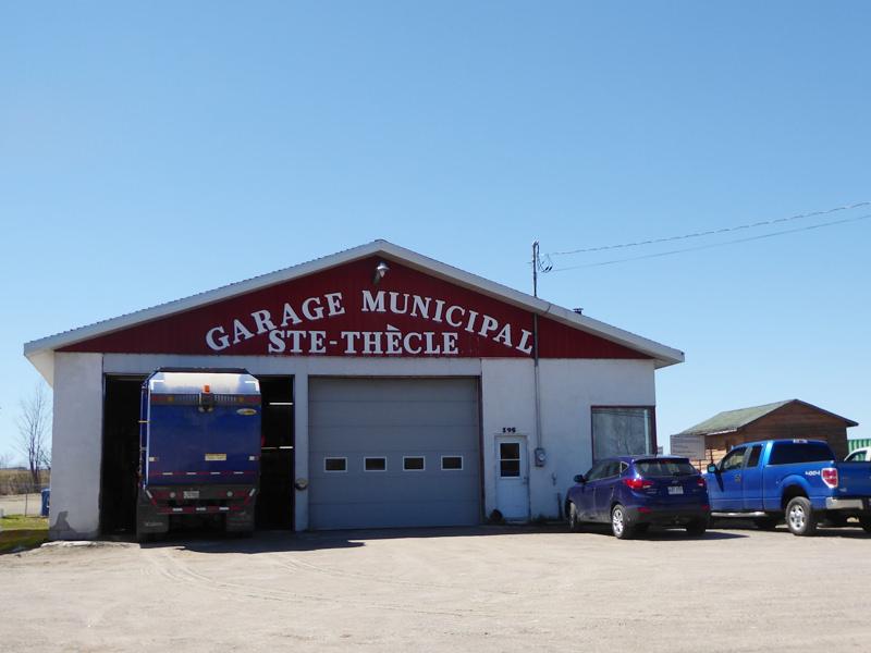 Garage Muncipal Sainte-Thècle