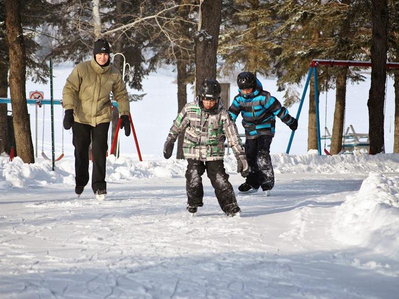 Patinoire - Sentier de glace - Parc St-Jean-Optimiste