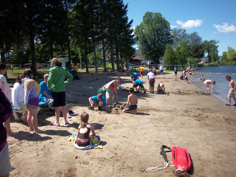 Plage municipale - Parc St-Jean-Optimiste