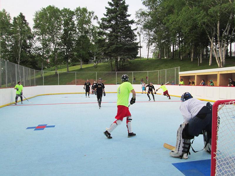 Surface de DekHockey