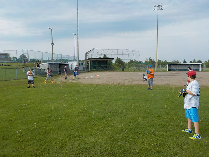 Terrain de Base-ball