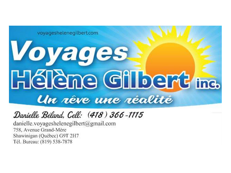 Voyages Hélène Gilbert inc.